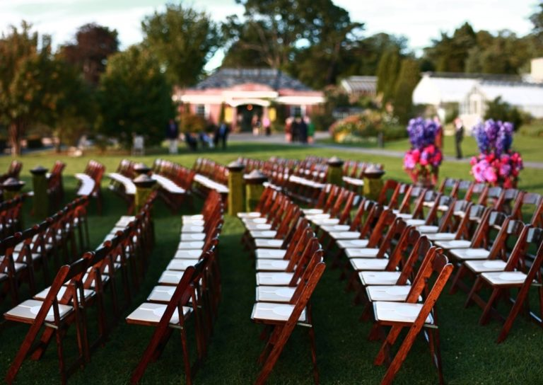 Chair Ceremony Set Up