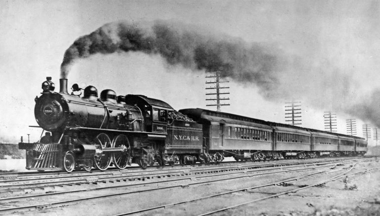 History New York Central Railroad rendering Artist Empire 1893