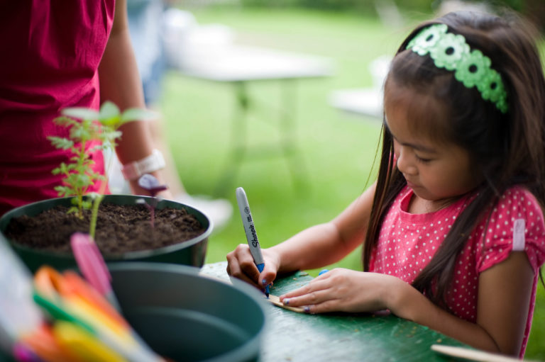 Family Art Project: Casting Spells and Starting Seeds